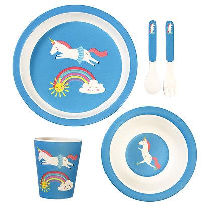 Ensemble Vaisselle Licorne pour enfants