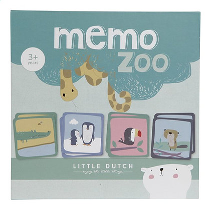Little dutch - Jeu de Mémo Zoo