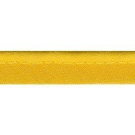 Passepoil tout textile jaune - 10 mm