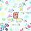 Thumbnail: Coton imprimé cahier d'écolier
