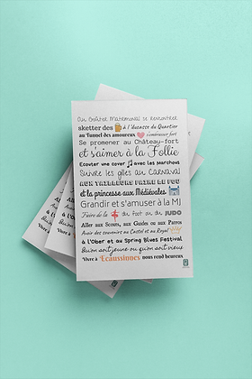 Carte postale Ecaussinnes