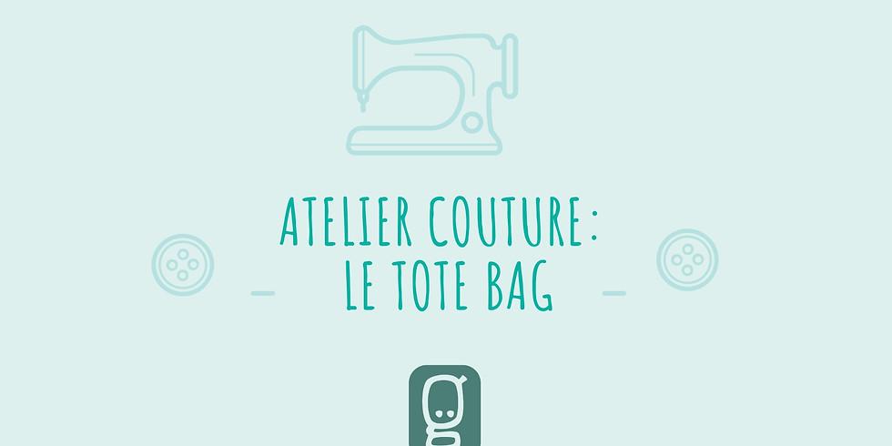 Couture débutant : réalisation d'un tote bag