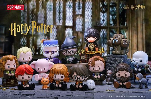Série complète Harry Potter Magic Animals x  Pop Mart - 12 Figurines