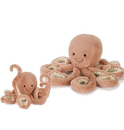 Jellycat Peluche Poulpe Odell Baby de Jellycat