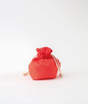 Petit sac trésor Zazen tangerine