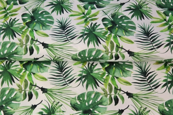 Coton Feuilles palmier