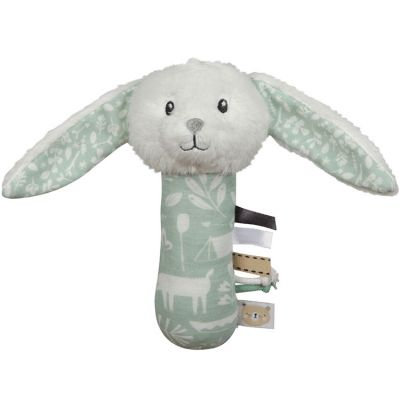 Little dutch - hochet lapin adventure mint