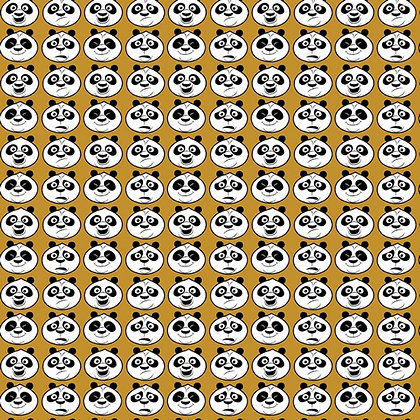 Popeline de Coton Kung Fu Panda