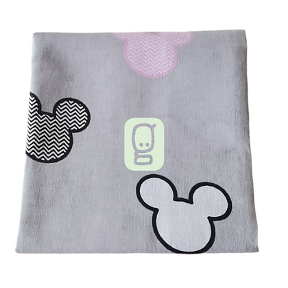 Coupon Mickey fond gris