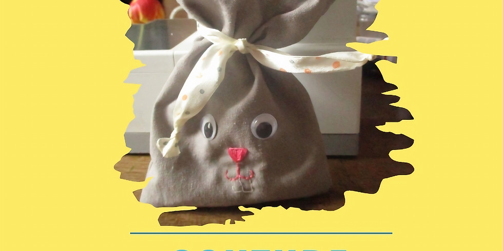 Couture débutant : réalisation d'un sac lapin