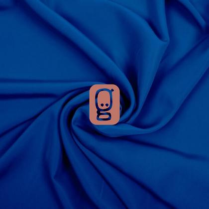 Tissu uni bleu royal