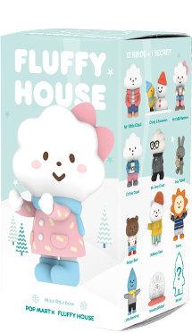 Fluffy House 1 pièce (modèle aléatoire)