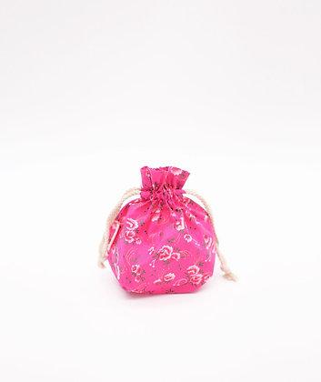 Petit sac trésor Pivoine rose Petit Pan
