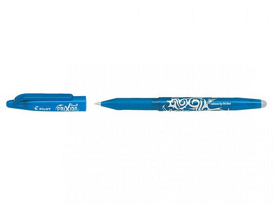 Pilot frixion ball 0.7 Bleu clair -Vrac