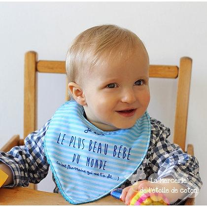 Kit Bavoir bébé - L'étoile de coton