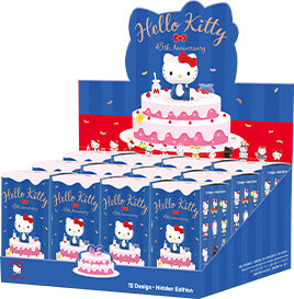PopMart Hello Kitty Collection complète (12 pièces)