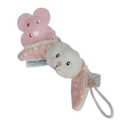 Little dutch - attache tutute lapin adventure pink