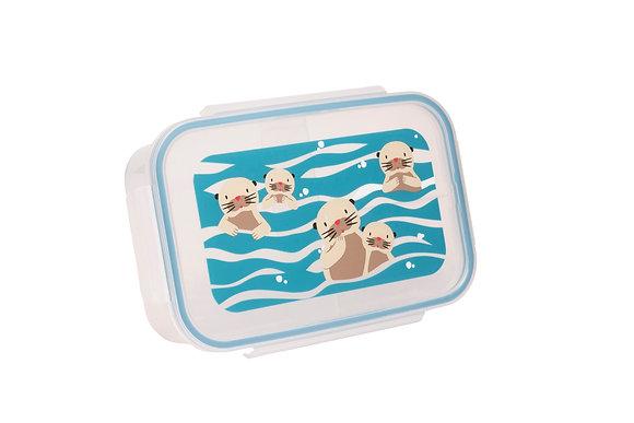 Grande boîte à lunch Bento box Bébé Loutre - SugarBooger