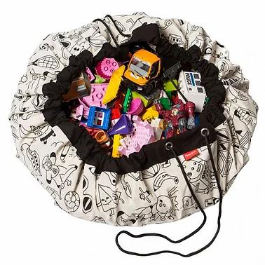 Sac de  rangement et Tapis de Jeu Colour your Bag by OMY- Play & Go x OMG