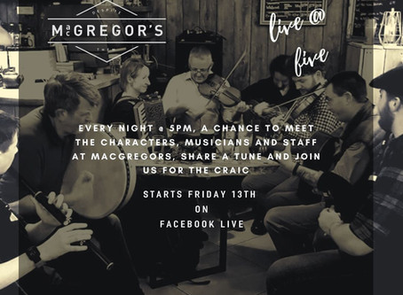 Live at Five, Growlers and the Highlander's Revenge