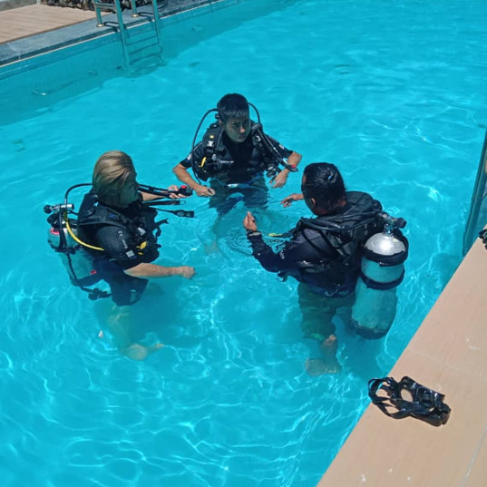 Pool or confined water training