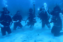The last open water dives