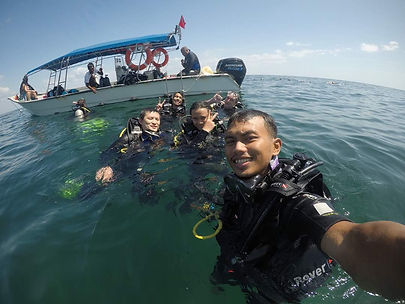 Private Charter for scuba diving
