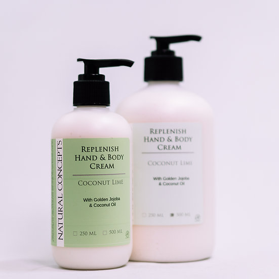 Replenish Hand & Body Jojoba Lotion