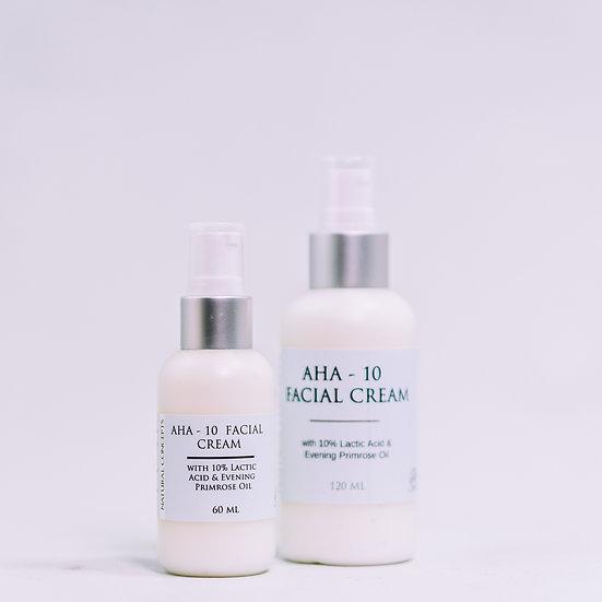 AHA-10 & Evening Primrose Cream