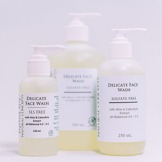 Delicate Foaming Face Wash - Sulfate Free