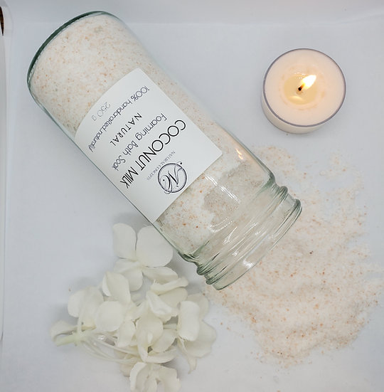 Coconut Milk Foaming Bath Soak