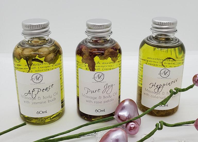 Botanical Bath, Body & Massage Oil