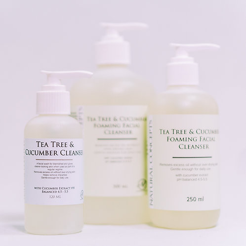 Tea Tree & Cucumber Foaming Cleanser