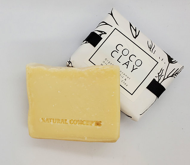 Coco Clay White - Natural Palm Free Bar Soap