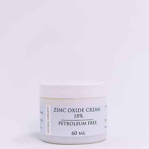 Zinc Oxide Cream 18%