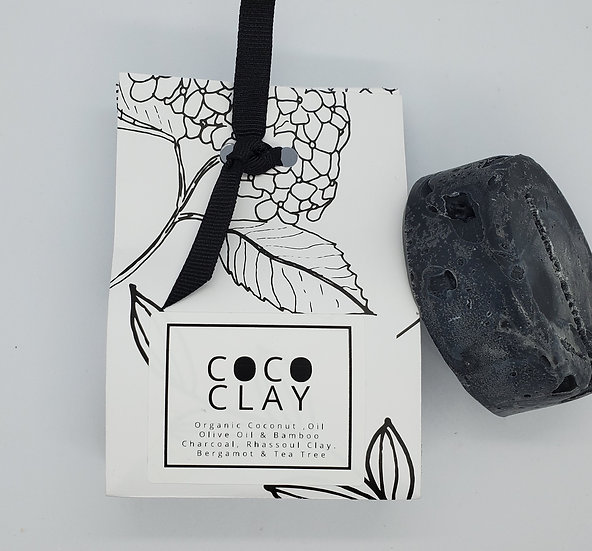 Coco Clay Charcoal - Palm Free