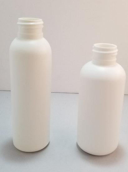 Bottles - 120ml White HDPE