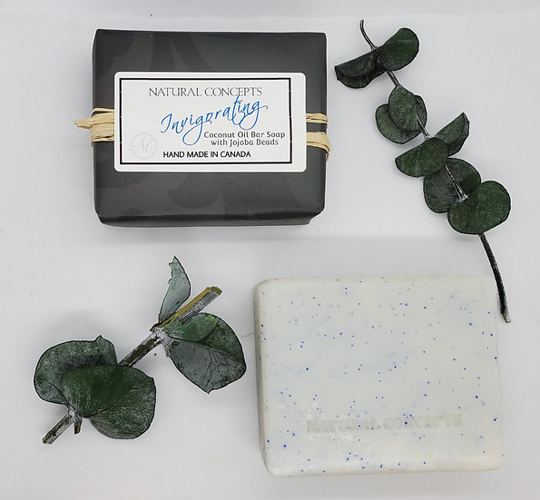 Invigorating Coconut Oil Bar Soap