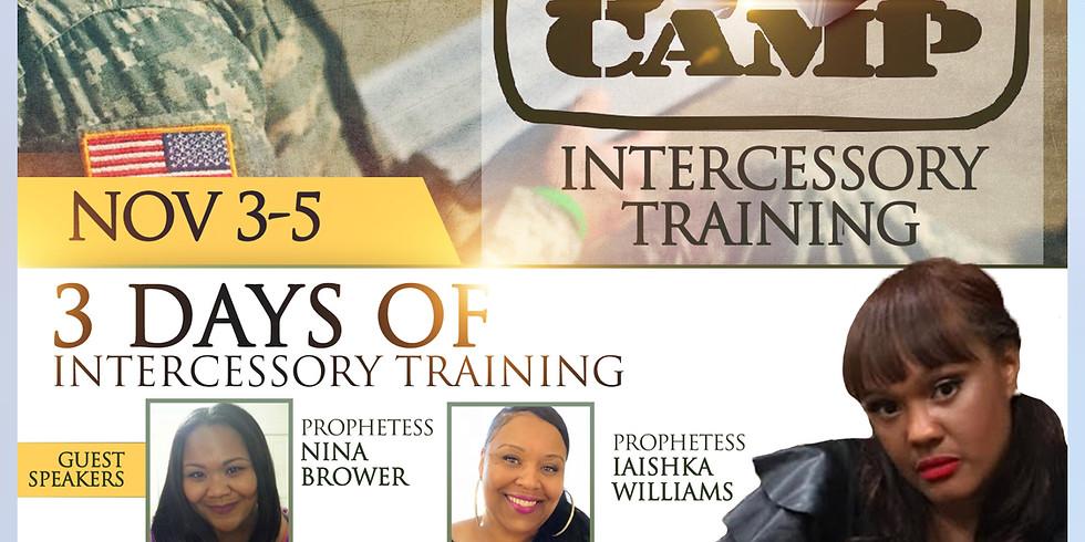 Intercessory Boot Camp