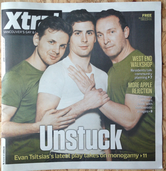 """Cover of Xtra West for """"UNSTUCK"""""""