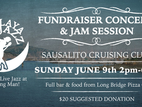 Fundraiser Concert for 2019 in Sausalito!