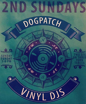 Dogpatch Vinyl DJs 2nd Sundays