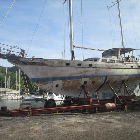 Amour et sueur : l'aventure de la remise à flot du Mana iti (Part 1)