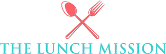 The Lunch Mission nonprofit logo by Audrey Kaplan for thelunchmission.org in Walnut Creek.