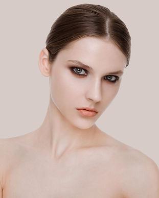 Schönheits-Mode-Modell