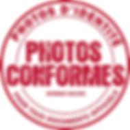 Photos d'identité conformes aux normes iso/iec