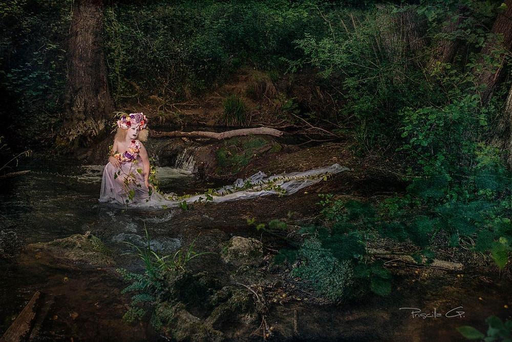 """Séance """"Make up Art"""" par Priscilla G, votre photographe portraitiste du var."""