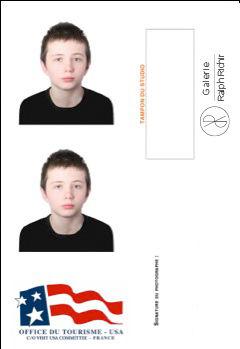 photos d'identité à Toulon pour visa américain