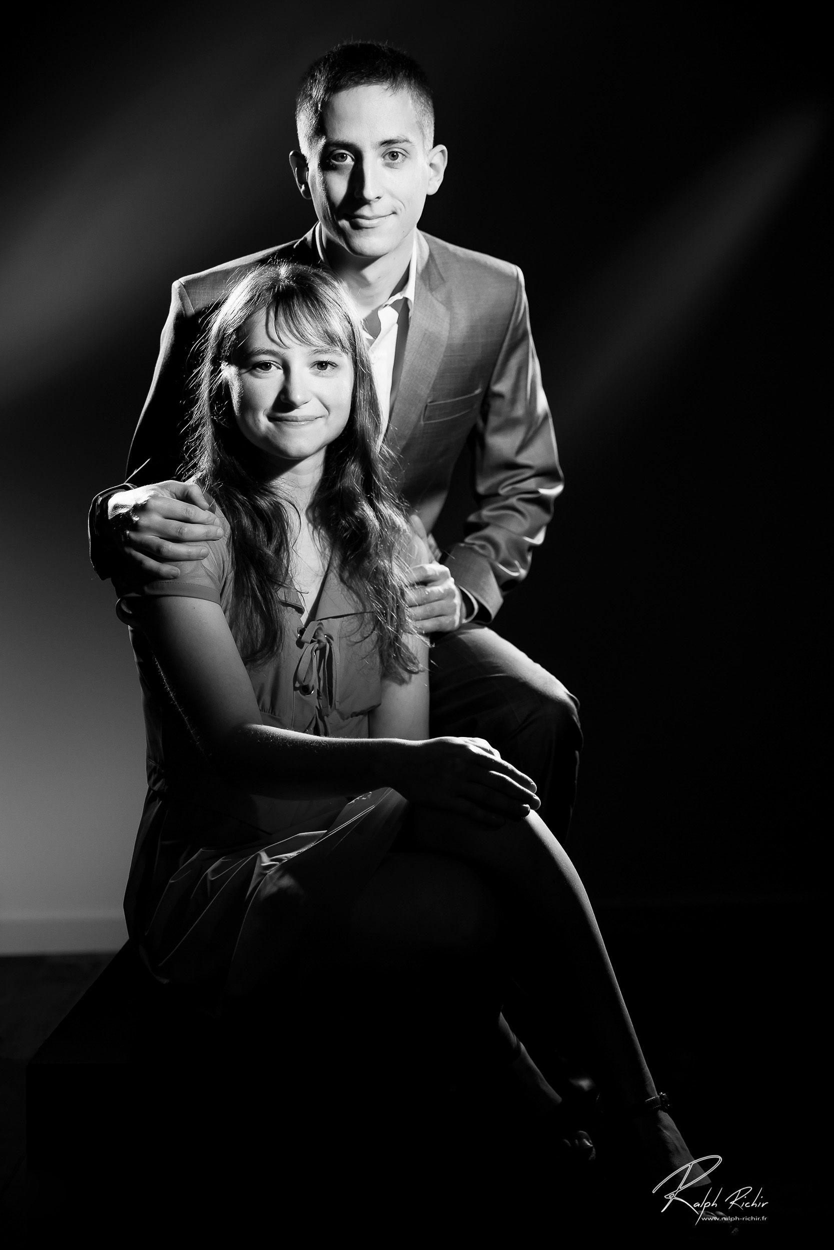potrtait, photo de couple, studio photo, toulon, galerie ralph richir, www.ralph-richir.fr-6