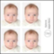 photos d'identité à Toulon pour bébé
